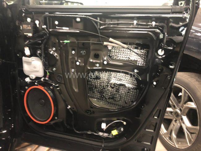Работы по шумоизоляции Toyota Alphard